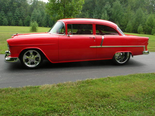 1955 Chevrolet Bel Air/150/210 210 2dr sedan