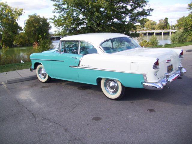 55 Chevy California Hardtop For Sale Photos Technical