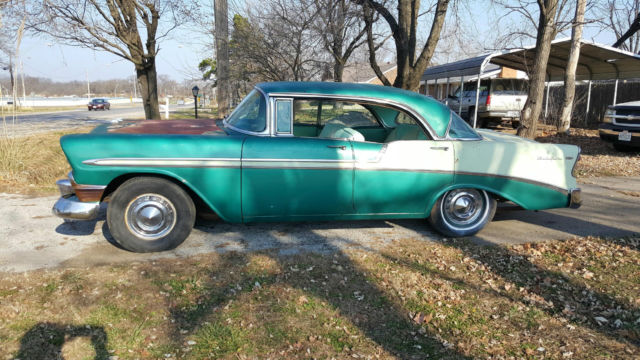 1956 Chevrolet Bel Air/150/210 4-door hardtop