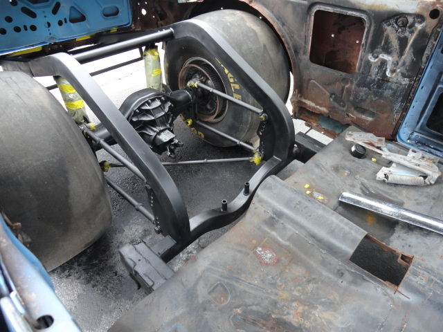 57 Chevy 150 Pro Street Or Drag Car Project For Sale