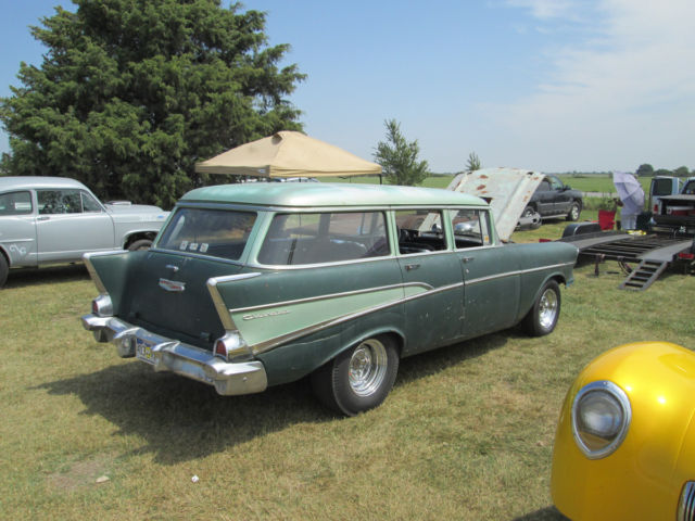 57 Chevy Wagon Gasser For Sale Photos Technical