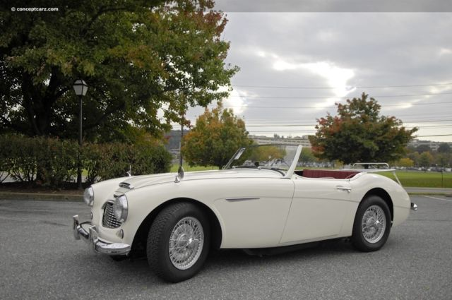 1957 Austin Healey 3000 100-6 with factory upfit to 3000