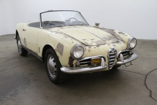 1959 Alfa Romeo Other Spider