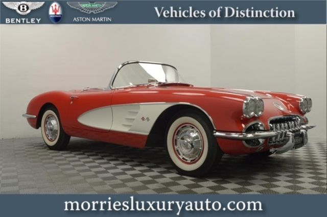 1960 Other Makes Corvette C1 Convertible