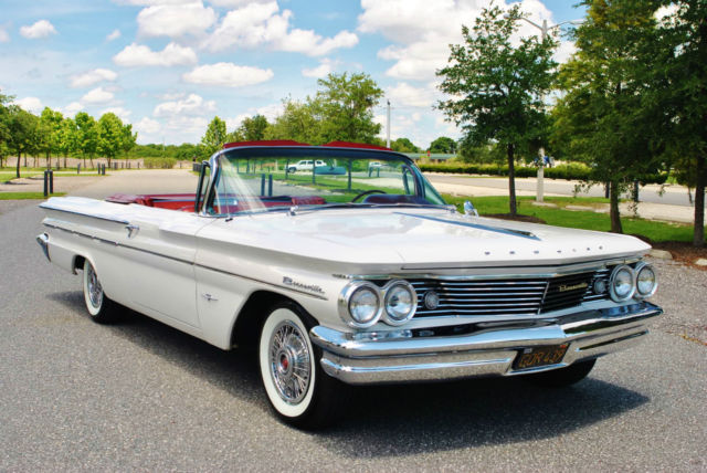 1960 Pontiac Bonneville Convertible Absolutely Gorgeous Fully Restored Wow