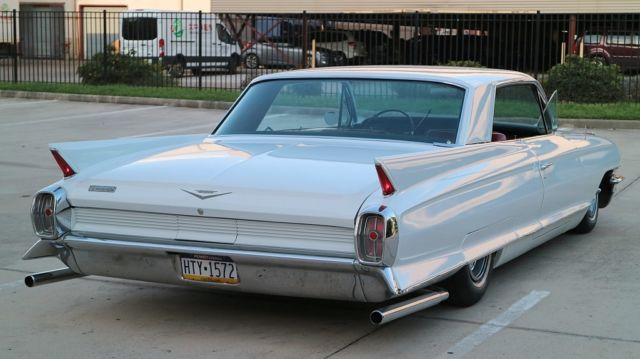 62 Cadillac Coupe Deville Series Air Ride Bagged Bag