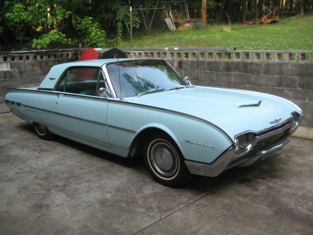 1962 Ford Thunderbird Hard top