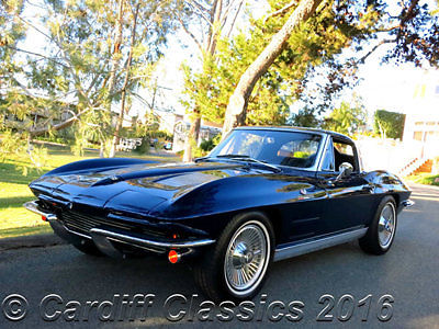 1963 Chevrolet Corvette Fuel-Injected Split Window