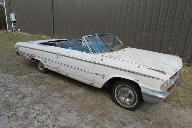 1963 Ford Galaxie 500 CONVERTIBLE NO RESERVE!