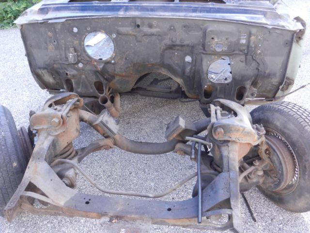 63 ford galaxie 500 XL Convertible Body and Frame for sale