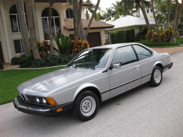1984 BMW 6-Series 633Csi