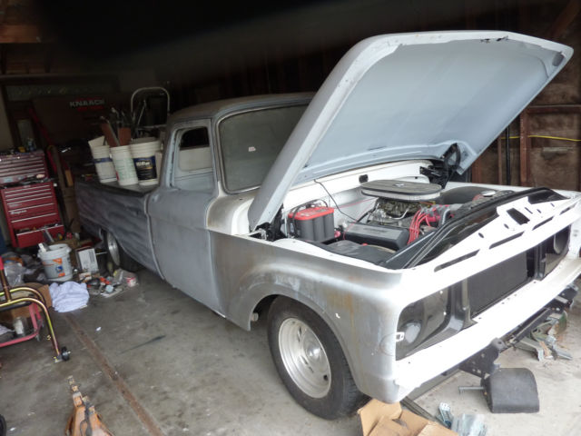1964 Ford F-100 long bed style side