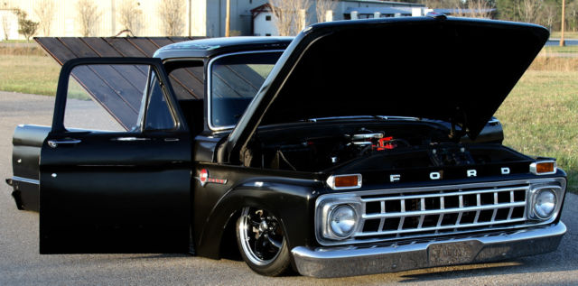 64 ford f100 bagged air ride patina shop truck not a rat rod chevy 3100 for sale photos. Black Bedroom Furniture Sets. Home Design Ideas