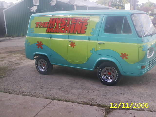 64 ford van 8 door scooby doo mystery machine for sale photos technical specifications. Black Bedroom Furniture Sets. Home Design Ideas