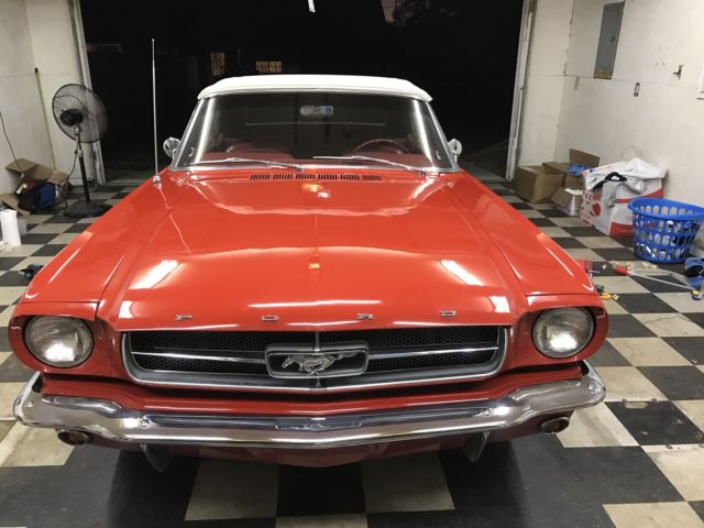 1965 Ford Mustang Convertible (new top)