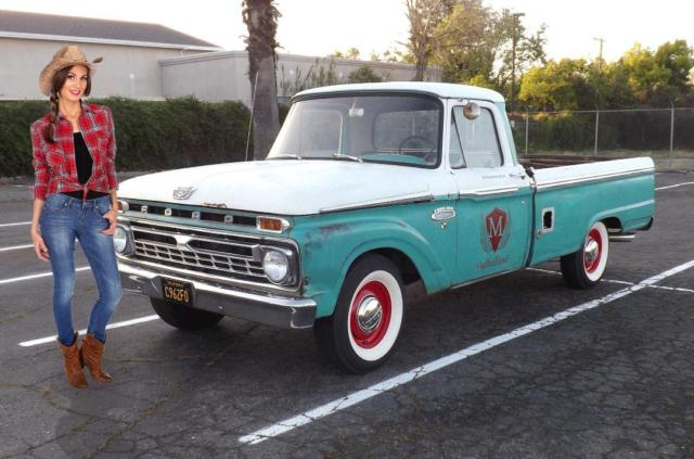 1965 Ford F-100 No Reserve Original Paint California Unmolested Pickup