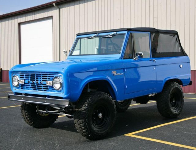 66-77 Early Ford Bronco For Sale: Photos, Technical