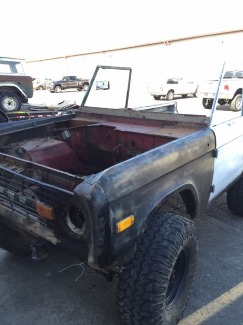 77 Best Images About Cartomancy On Pinterest: 66-77 Early Ford Bronco Project For Sale: Photos