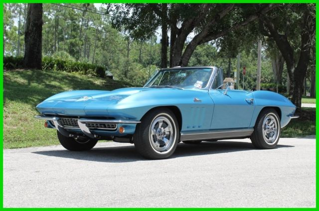 1966 Chevrolet Corvette Convertible Roadster Big Block  C2