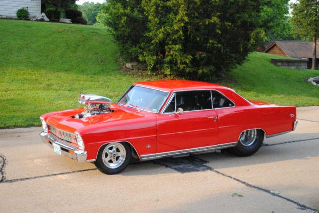 66 Chevy Nova SS Pro-Street for sale: photos, technical ...