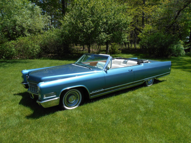 1966 Cadillac Eldorado Convertible Florida Car 71k Miles New Interior