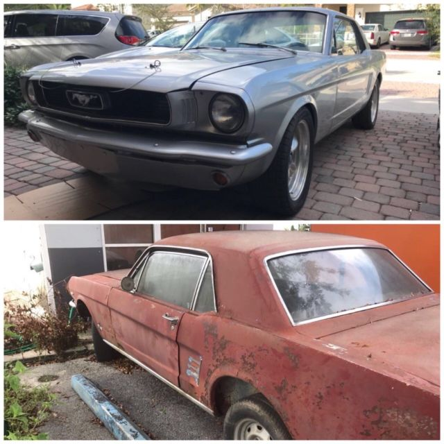 66 Ford Mustang Gt V8 Project Cars For Sale Photos Technical