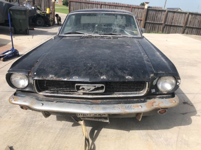 66 Ford Mustang Project Car Needs Work Has Rust Interior Body