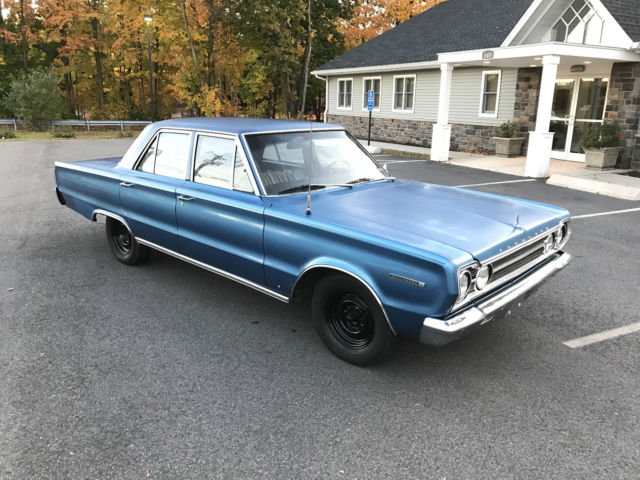 1967 Plymouth Belvedere sedan