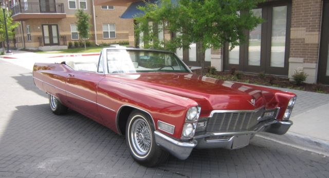 1968 Cadillac DeVille Base Convertible 2-Door