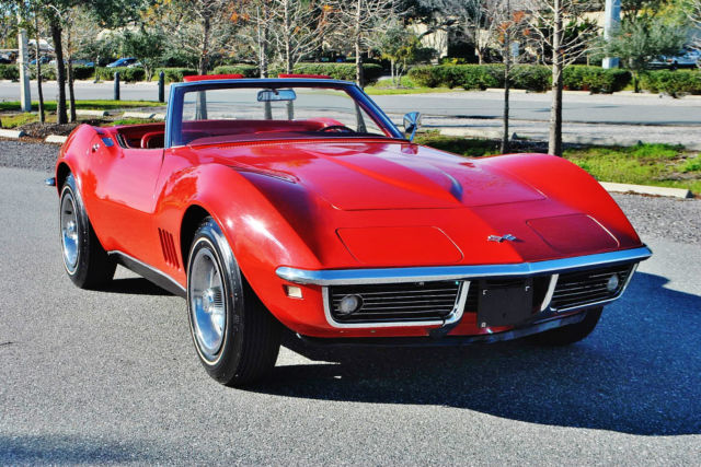 1968 Chevrolet Corvette Convertible #'s Matching 327 4-Speed One Owner