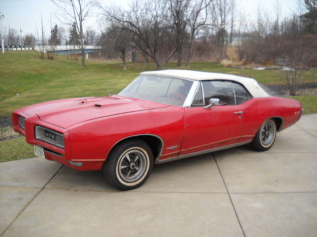1968 Pontiac GTO All Original True GTO
