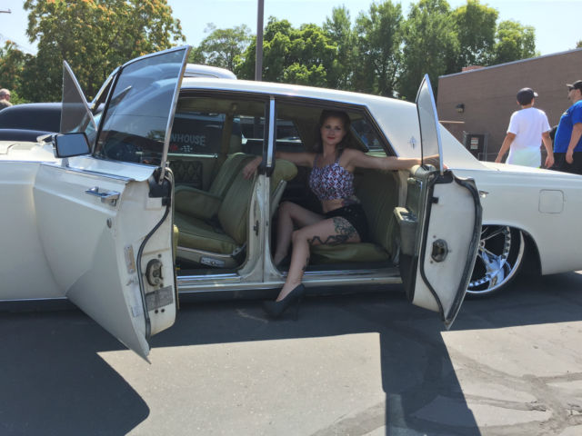 68 Lincoln Continental 22 S Air Ride Suicide Rear Doors Clean For Sale Photos Technical