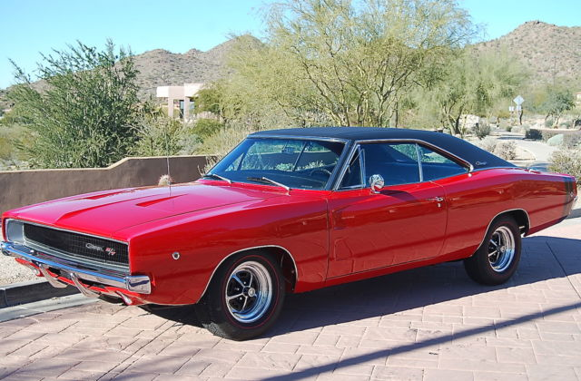 68 Rt Charger Matching Factory Red 440 Rotisserie
