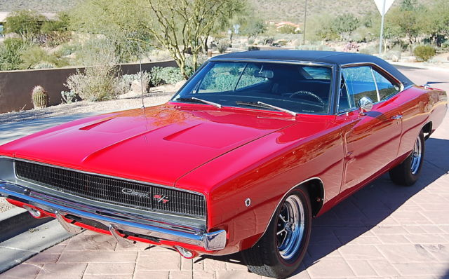 68 rt charger matching factory red 440 rotisserie restored for sale. Cars Review. Best American Auto & Cars Review