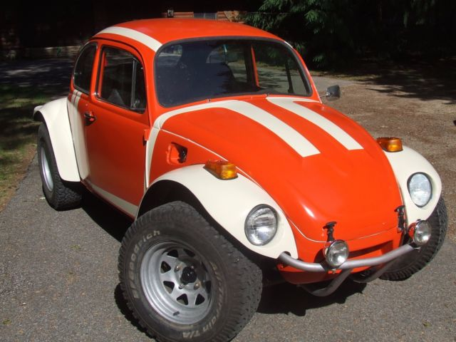 68 Vw Baja Beetle Full Restoration Dune Buggy