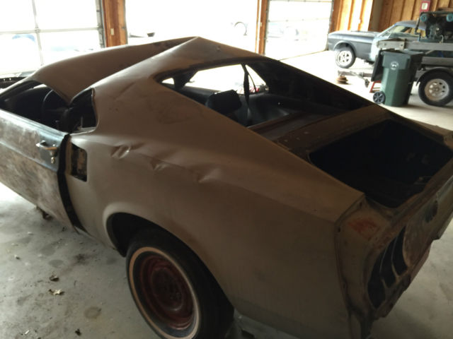69 1969 Mustang Fastback 302 Manual Transmission Project