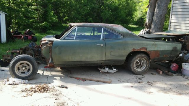 1968 Charger For Sale >> 69 CORONET R/T PROJECT CAR REAL DEAL RARE MOPAR SUPERBEE ...
