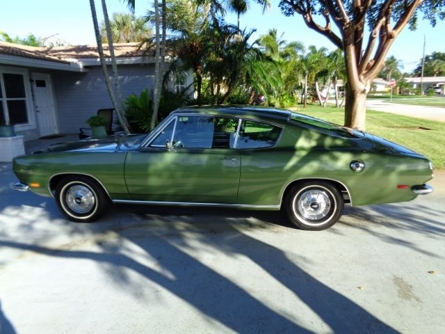 1969 Plymouth Barracuda BARRACUDA S