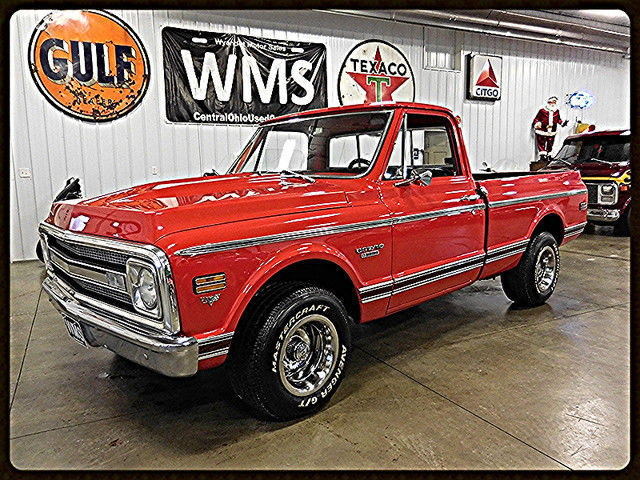 69 red 1 2 ton 2wd short bed v8 show classic truck vintage rallys chevy pickup for sale photos. Black Bedroom Furniture Sets. Home Design Ideas