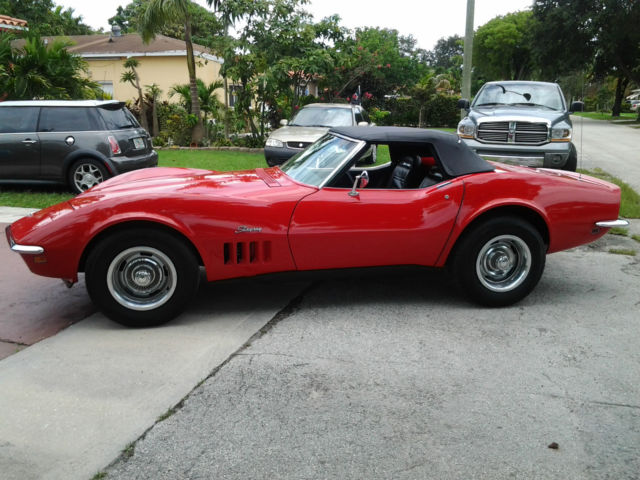 Miami Used Chevrolet >> 69 Stingray, 1969 Stingray Roadster, 1969 Corvette, 69 Stingray Roadster for sale: photos ...