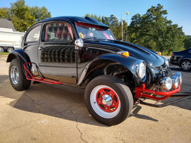 69 Vw Baja Beetle Dune Buggy 1776 Engine Roll Bar Leather Stereo Trail Ready