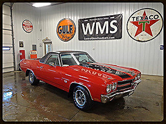 1970 Chevrolet El Camino SS 396 Big Block Car