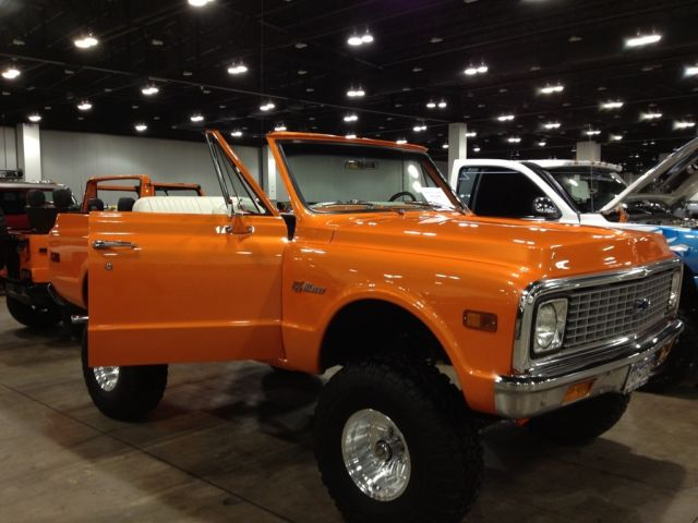 71 chevy k5 blazer restored house of kolor tangelo pearl