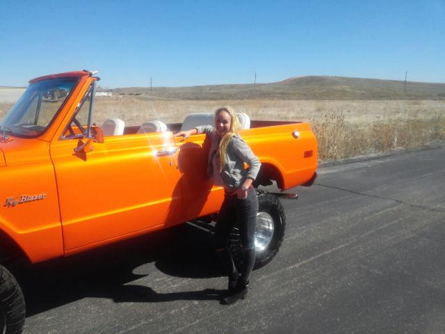 71 Chevy K5 Blazer Restored House Of Kolor Tangelo Pearl For Sale