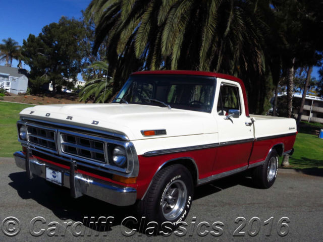 1971 Ford F-100 SHORT BED STYLESIDE PICKUP