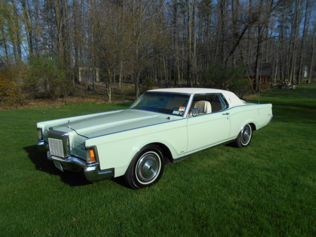 1971 Lincoln Mark Series Nice Rust Free