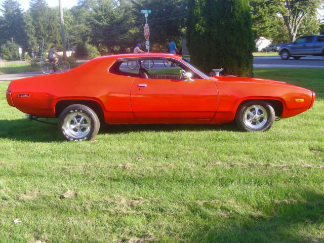 1971 Plymouth Satellite coupe