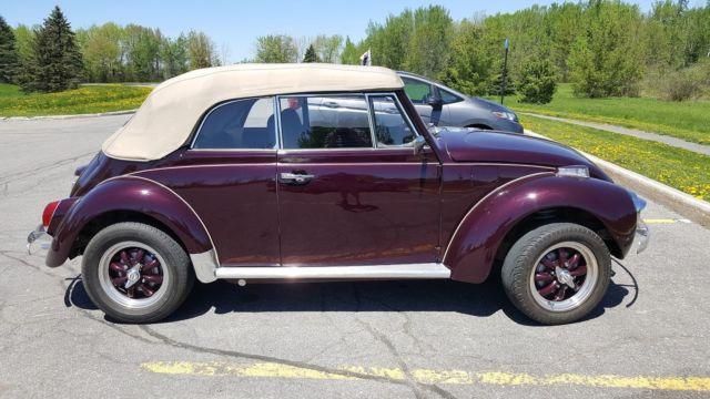 1971 vw super beetle restoration
