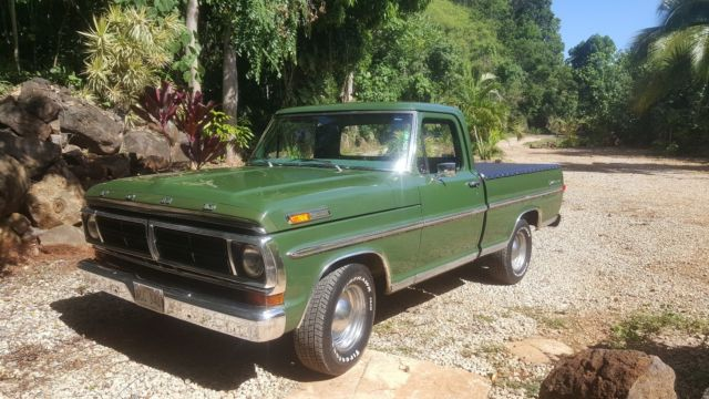 1972 Ford F-100 Short Bed