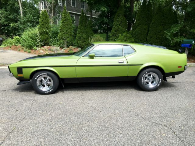 72 Ford Mustang Mach 1 351W H Code Runs & Drives Great! AC ...